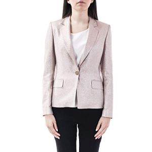 Liu Jo Luxury Fashion Femme PA0105T235700532 Rose Blazer | Printemps_Été