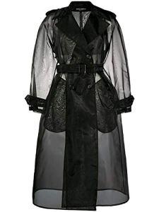 Luxury Fashion | Dolce E Gabbana Femme F0Z59TFUMG9N0000 Noir Trench Coat |