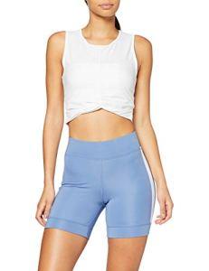Marque Amazon – AURIQUE BAL1002 Shorts de course, Bleu (Colony Blue), 38
