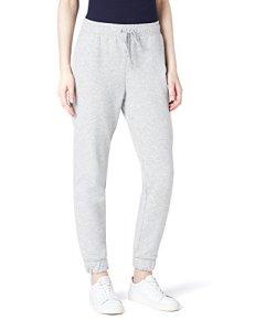 MERAKI Pantalon Jogging Femme, Gris (Grey), 44 (Taille fabricant: X-Large)