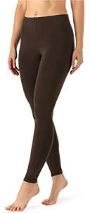Merry Style Legging Long Tenue Sport Femme MS10-143 (Braun, S)