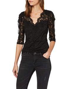 Morgan 192-TENA.N T-Shirt, Noir (Noir Noir), Medium (Taille Fabricant:TM) Femme