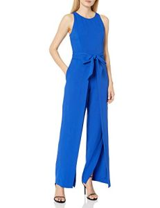 Nine West Combinaison avec Pantalon Flyaway pour Femme – Bleu – 44