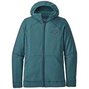 Patagonia W's R1 Full-Zip Hoody Maillot de survêtement Femme, Vert Gypse, S