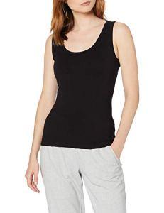 Peopletree Lizzie Vest Débardeur, Noir (Black BK), 36 (Taille Fabricant: 8) Femme