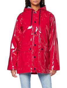 Petit Bateau Ciré_5037402 Veste Imperméable, Rouge (Terkuit 02), Large (Taille Fabricant: L/20 L20ans) Femme