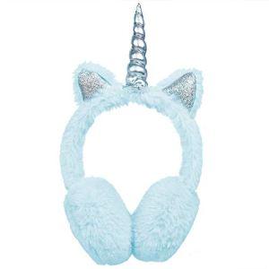 SEDEX Cache-oreilles pour Enfants Filles Accessoires de Ski Licorne Chaud Chauffe-oreilles Thermique Protection Contre le Vent Bébé Cadeau de Nouvelle Année pour L'hiver