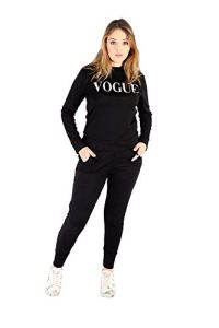 Survêtement pour Femme avec imprimé Vogue 2 pièces – Vert – Small