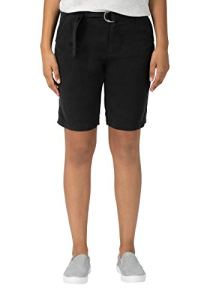 Timezone Regular Aylintz Short, Noir (Washed Black 9091), W25 (Taille Fabricant: 25) Femme