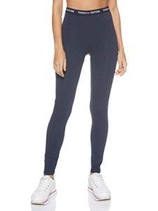 Tommy Hilfiger Legging Tanga, Bleu (Blue 416), Unique (Taille Fabricant: SM) Femme