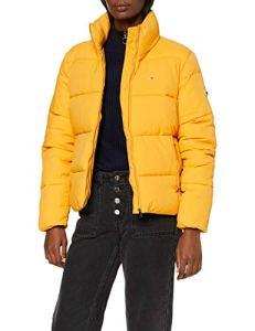 Tommy Jeans Tjw Modern Puffa Jacket Blouson, (Yellow Zbc), X-Large Femme