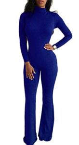 VaeJY – Combinaison – Femme – Bleu – L Grand