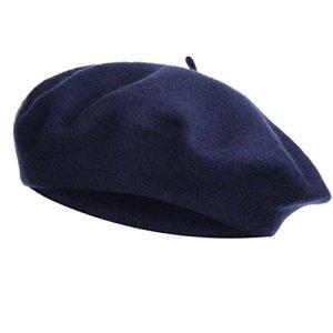 VGLOOK – Béret – Femme Taille Unique – Bleu – Taille Unique