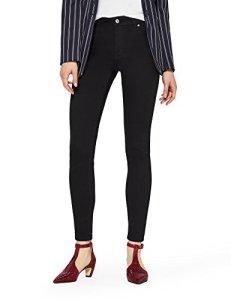 find. Jean Skinny Taille Normale Femme, Noir (Clean Black), 26W / 32L, Label: 26W / 32L