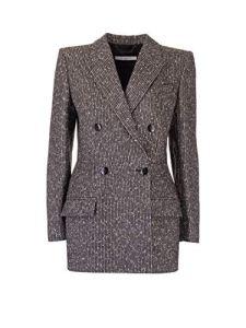 Givenchy Luxury Fashion Femme BW309Y12AW004 Argent Blazer | Automne_Hiver