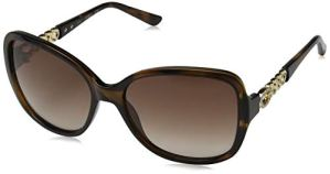 Guess GU 7452 Montures de Lunettes, Marron (Dark Havana/Gradient Brown), 59 Femme