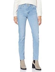 Levi's 724 High Rise Straight Jean droit, Femme, Bleu (Los Angeles Steeze 0076), W31/L32