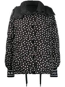 Luxury Fashion | Dolce E Gabbana Femme F9F42TG7TPBS9000 Noir Doudoune | Automne Hiver 19