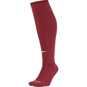 Nike – Academy – Knee High Classic Football Dri Fit – Chaussettes de football – Mixte adulte – Multicolore (Varsity Red/White) – L (Taille fabricant: 42-46)