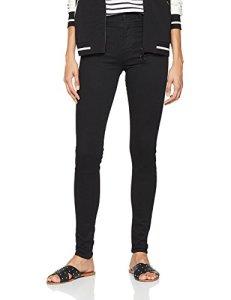 Levi's Mile High Super Skinny Jean, Noir (Black Galaxy 0052), W29/L30 Femme