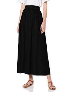 Only NOS Onlvenedig Paperbag Long Skirt WVN Noos Jupe, Noir (Black Black), 36 (Taille Fabricant: X-Small) Femme