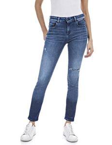 Replay FAABY Jeans, 009 Medium Blue, 32W x 32L Femme