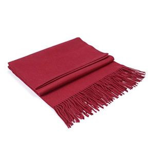 Colleer – Pashmina – Femme – Rouge – Taille unique