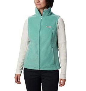Columbia Benton Springs Veste polaire souple pour femme – Vert – X-Large