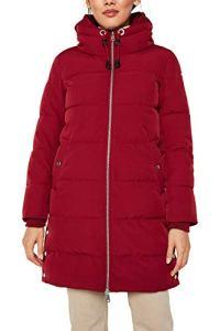 Esprit 119EE1G014 Manteau, Rouge (Rouge foncé 610), L Femme