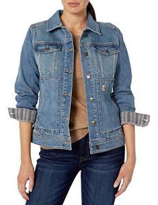 Carhartt Women's Benson Denim Jacket, Stonewash, S