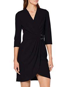 Morgan 192-REVENA.P Robe Femme, Noir (Noir), 34 (Taille fabricant:T34)
