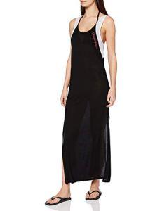 Calvin Klein Tank Dress Tunique de Plage, Noir (PVH Black BEH), (Taille Fabricant: Medium) Femme