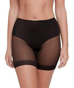 Pantalon anti-frottement invisible et super léger. Tissu élastique et super doux. – Noir – XL