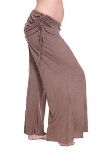 Belly Bandit–Pantalon Femme en Bambou et en Spandex M/L Marron (Brown)