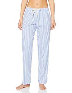 Calida Fav. Trend Zero Damen Hose, Bas de Pyjama Femme, Blau (Persian Jewel 411), X-Small