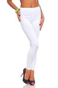 futuro fashion jambières coton pleine longueur tous coloris toutes les tailles actif pantalon sport pantalon – Blanc, EU 54