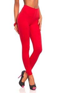 FUTURO FASHION – Legging Long pour Femme – Coton Doux – Grandes Tailles