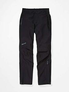 Marmot Wm's Minimalist Pant imperméable, Pantalon étanche Femme, Pluie, Coupe Vent, Respirant, Black, FR : L (Taille Fabricant : L)