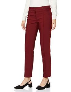 More & More Businesshose Von Tailleur-Pantalon, Rouge (Wine Red 0548), 42 (Taille Fabricant: 40) Femme