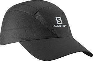 Salomon Unisexe Visière, XA Visor, Taille Unique Ajustable, Noir, L39305500