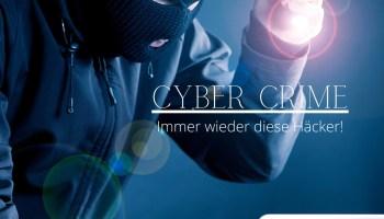 Blog Design 20x20cm 4 Cyber Crime Immer wieder diese Haecker