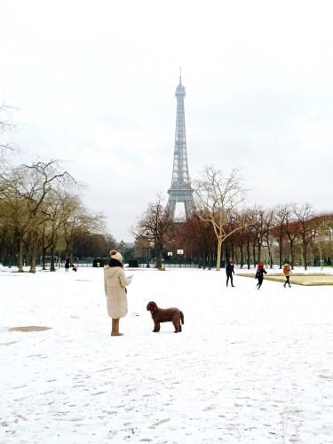 Champ de Mars Tour Eiffel