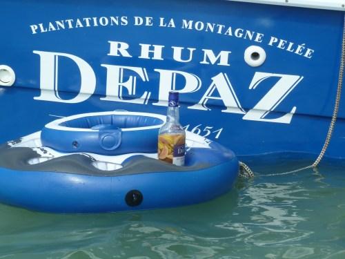 Captain Roro bateau journée iguane martinique rhum depaz