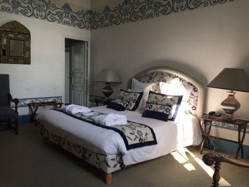 Château de Noirieux chambre