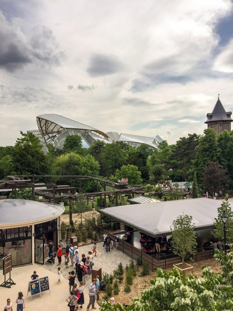 Jardin Acclimatation Paris Neuilly sur seine Parc Attractions fondation louis vuitton