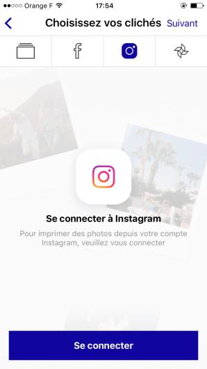 clicher_app application impression photo instagram