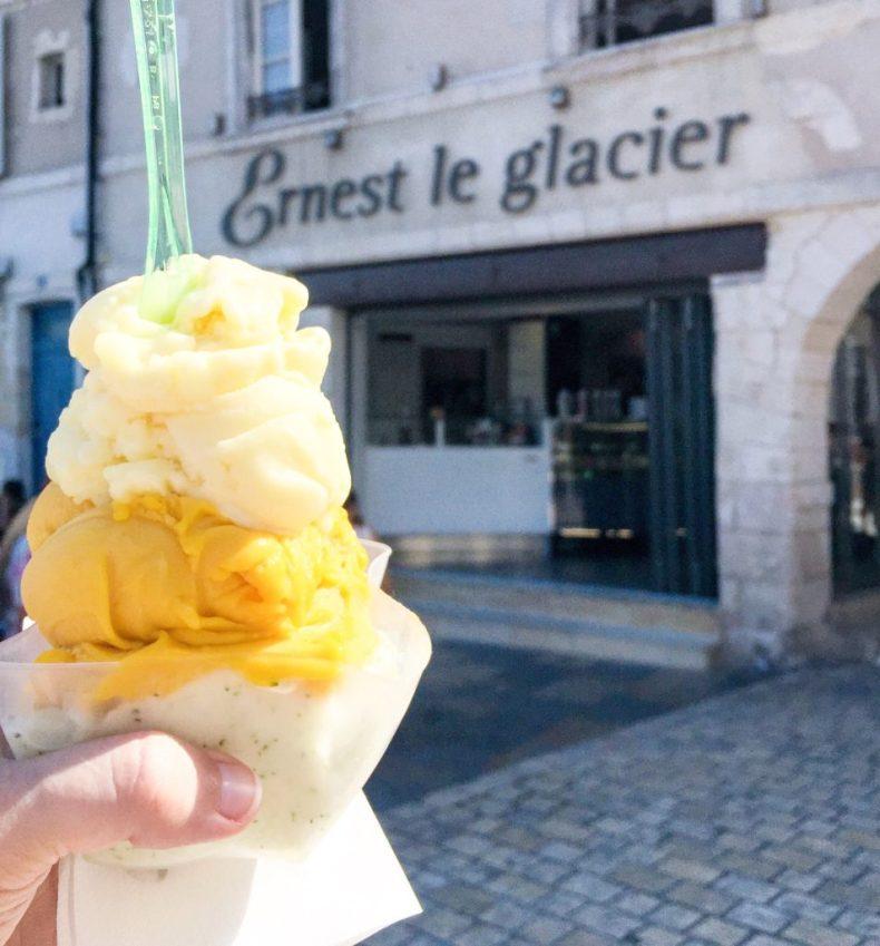 Ernest glace glacier La Rochelle