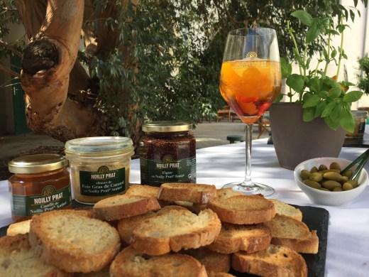 Noilly Prat Marseillan étang de thau martini bacardi vermouth spritz gastronomie dégustation