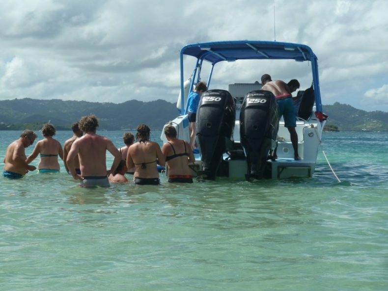 Captain Roro bateau journée iguane martinique apéro ti punch planteur