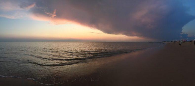 Chatelaillon Plage coucher de soleil